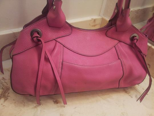 Tignanello Satchel in Pink Image 8