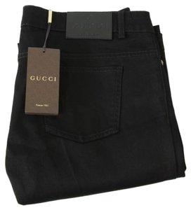 Gucci 338501 Womens 70s Softened Stretch Jeans Pants