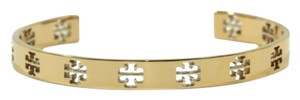 Tory Burch Tory Burch Pierced T Cuff Bracelet Rose Gold