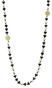 Tory Burch Tory Burch Dipped Evie Mini Rosary Necklace