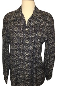 David Brooks Button Down Shirt Patterned