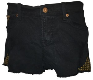 Lucky Brand Cut Off Shorts Black