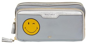 Anya Hindmarch Wink Smiley Face Tassel Small Make-Up Pouch