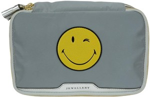 Anya Hindmarch Wink Smiley Face Tassel Jewelry Pouch