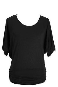 Annalee + Hope Womens Viscose Top black