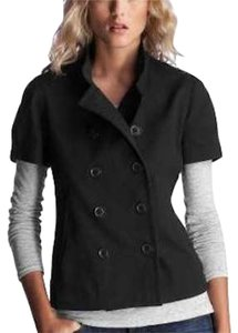 Gap Short-sleeved Buttons Pea Coat