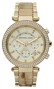 Michael Kors Micheal Kors Women's Two-Tone Glitz Watch MK5632