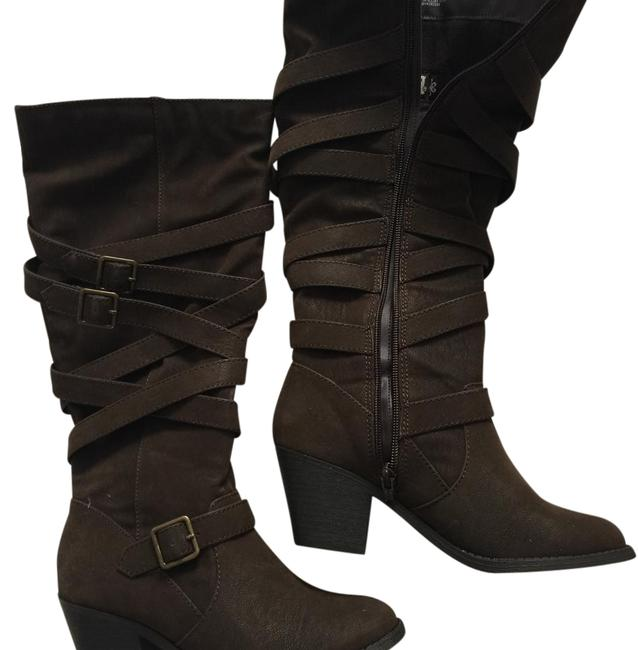 Brown Boots/Booties Size US 6 Regular (M, B) Brown Boots/Booties Size US 6 Regular (M, B) Image 1