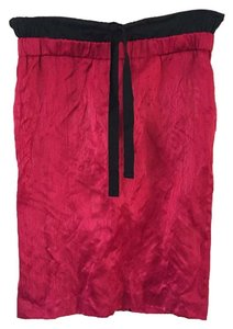 Prada Pencil Skirt Red