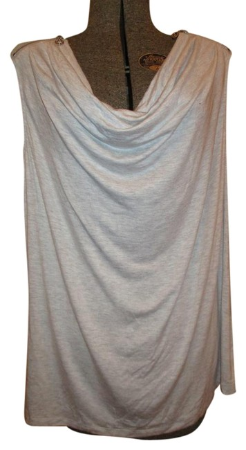 Preload https://img-static.tradesy.com/item/18866506/andrew-marc-grey-new-york-cowl-neck-sleevless-tunic-blouse-size-16-xl-plus-0x-0-1-650-650.jpg
