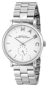 Marc by Marc Jacobs Marc by Baker Silver-Tone Watch