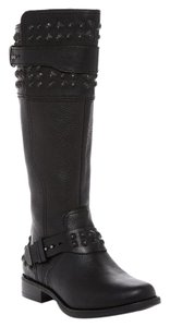 UGG Australia Ugg Moto Studded Motorcycle Riding black Boots