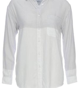 Rails Button Down Shirt White/grey