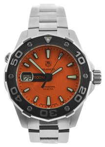TAG Heuer New Authentic Men's Tag Heuer Aquaracer WAJ1113 Quartz 500M Date Watch