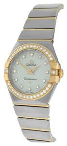 Omega Ladies Omega Constellation 123.25.27.60.55.006 Diamonds 18K Gold