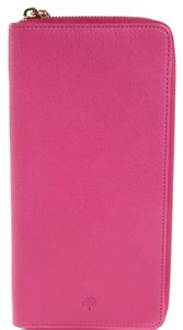 Mulberry Mulberry Glossy Goat Zip Travel Wallet