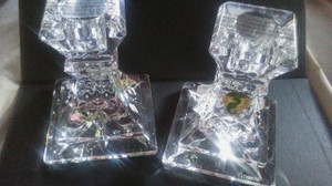 Waterford Crystal Lisimore 4 Inch Candle Holders