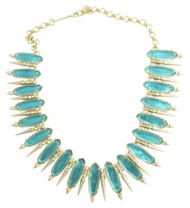 Kendra Scott KENDRA SCOTT Gwendolyn London Blue Illusion Statement Collar Necklace