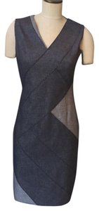 Elie Tahari short dress Indgo on Tradesy