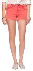 Forever 21 Cut Off Shorts Coral