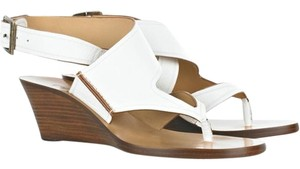 Chloé White Wedges