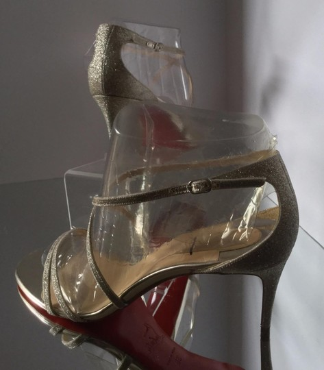 Christian Louboutin Silver Sandals Image 10