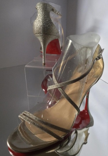 Christian Louboutin Silver Sandals Image 8