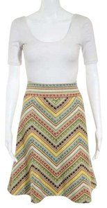 Nanette Lepore Multicolor Skirt yellow, orange, brown, green