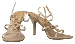 Kenneth Cole Reaction Light Gold Sandals