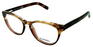 Chanel CH 3237 Beautiful Round Crystal Brown Chanel Glasses -Free Shipping