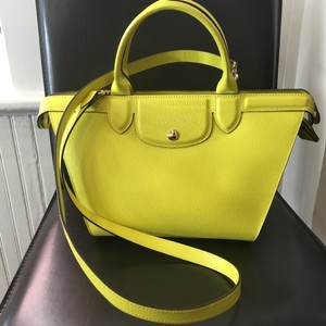 Longchamp Satchel in Yellow