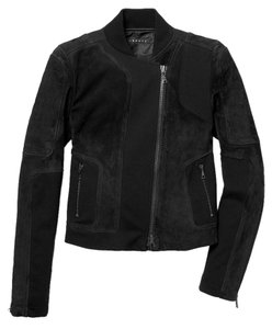 Theory Suede Motorcycle Jacket