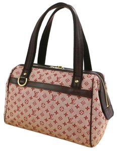 Louis Vuitton Canvas Tote in Red Cherry