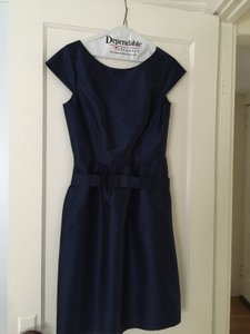 Alfred Sung Midnight Woven Fit & Flare Dress Dress