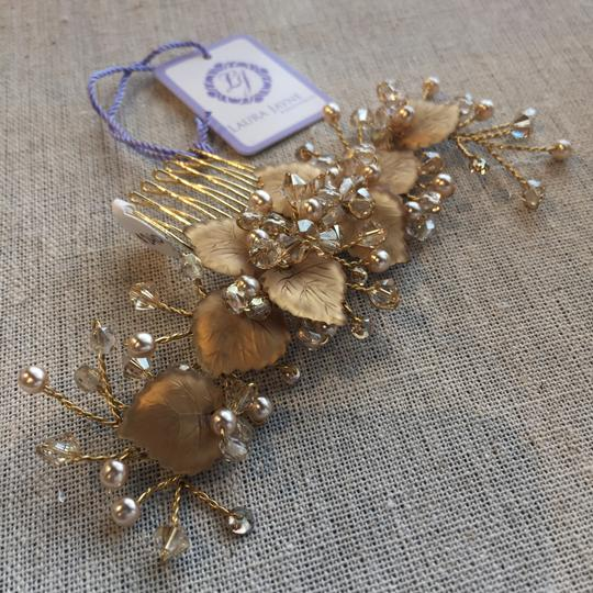 Laura Jayne Gold/Champagne Hair Accessory Image 1
