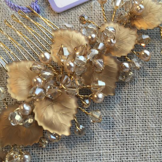 Laura Jayne Gold/Champagne Hair Accessory Image 2
