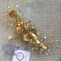 Laura Jayne Gold/Champagne Hair Accessory Image 3