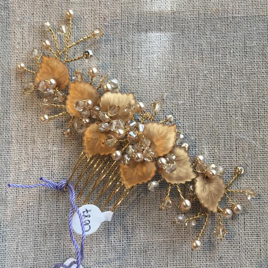 Laura Jayne Gold/Champagne Hair Accessory Image 5