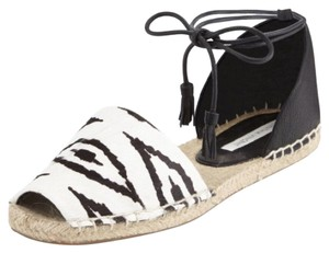 Twelfth St. by Cynthia Vincent Black and white Sandals