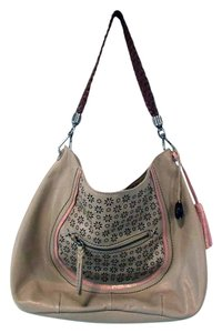 The Sak Indio Leather Sparkle Hobo Bag