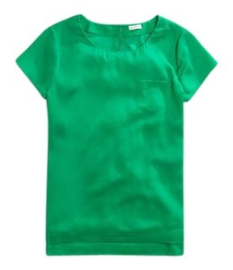 J.Crew Top Kelly Green