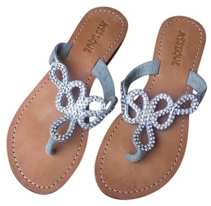 Mystique Boutique Silver Sandals