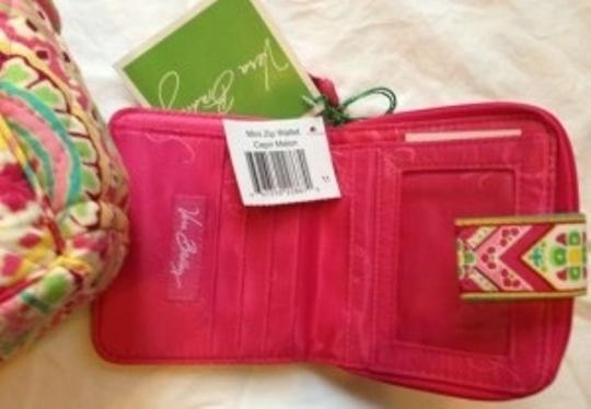 Vera Bradley Paisley Tortoise Retired Set Wallet Shoulder Bag