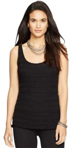 Ralph Lauren Womens New Top Black