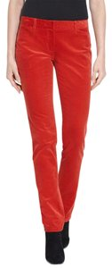 Theory Skinny Pants Red