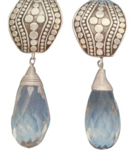 FREE Shipping/ 40% Off New Briolette Drop Clip-On Earrings