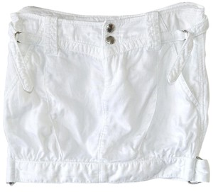 A|X Armani Exchange White Chic Casual Skirt