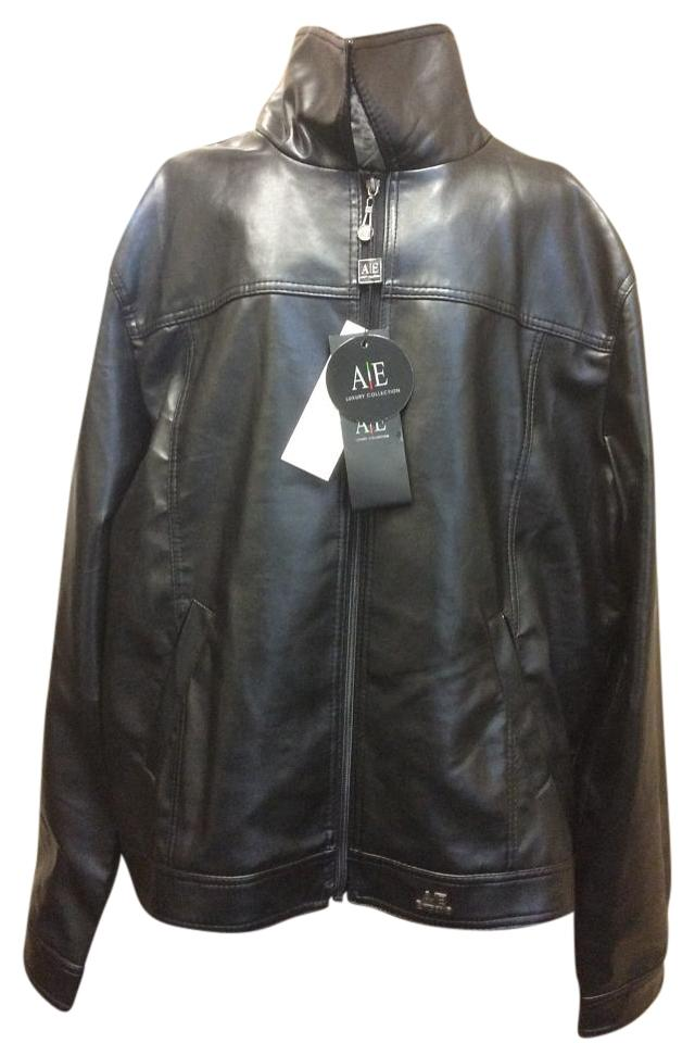 379cb311241 Black Faux Leather By Jacket Size 20 (Plus 1x) - Tradesy