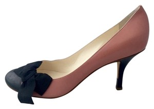 Giuseppe Zanotti Giuzeppe Bow Rose pink and black Pumps