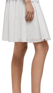 Rag & Bone Mini Skirt White